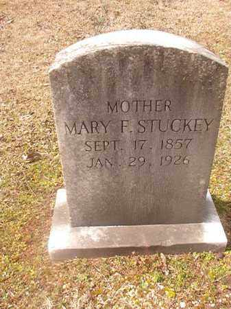STUCKEY, MARY F - Grant County, Arkansas | MARY F STUCKEY - Arkansas Gravestone Photos
