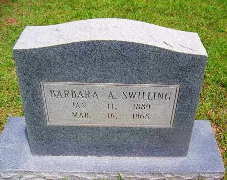 SWILLING, BARBARA A - Grant County, Arkansas | BARBARA A SWILLING - Arkansas Gravestone Photos