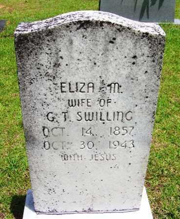 SWILLING, ELIZA M - Grant County, Arkansas | ELIZA M SWILLING - Arkansas Gravestone Photos