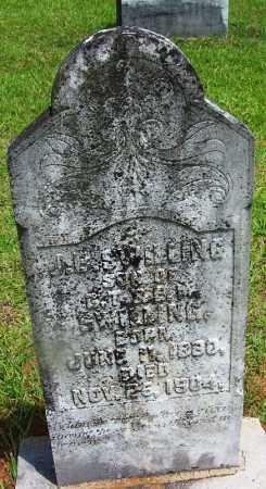 SWILLING, J B - Grant County, Arkansas   J B SWILLING - Arkansas Gravestone Photos