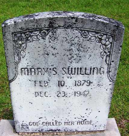 SWILLING, MARY S - Grant County, Arkansas | MARY S SWILLING - Arkansas Gravestone Photos