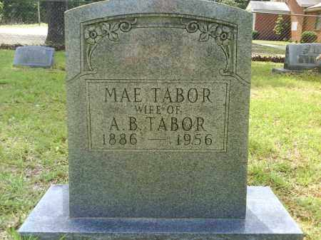 TABOR, MAE - Grant County, Arkansas | MAE TABOR - Arkansas Gravestone Photos