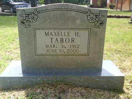 TABOR, MAXELLE H. - Grant County, Arkansas | MAXELLE H. TABOR - Arkansas Gravestone Photos