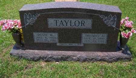 TAYLOR, DOVIE M - Grant County, Arkansas | DOVIE M TAYLOR - Arkansas Gravestone Photos