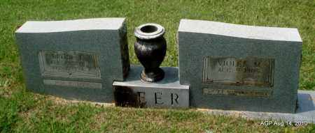 TEER, VIOLET M - Grant County, Arkansas | VIOLET M TEER - Arkansas Gravestone Photos