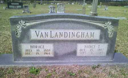 TUCK VAN LANDINGHAM, NANCY T - Grant County, Arkansas | NANCY T TUCK VAN LANDINGHAM - Arkansas Gravestone Photos