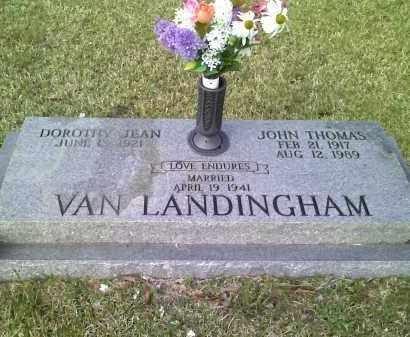 LECKRONE VAN LANDINGHAM, DOROTHY - Grant County, Arkansas | DOROTHY LECKRONE VAN LANDINGHAM - Arkansas Gravestone Photos