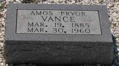 VANCE, AMOS - Grant County, Arkansas | AMOS VANCE - Arkansas Gravestone Photos