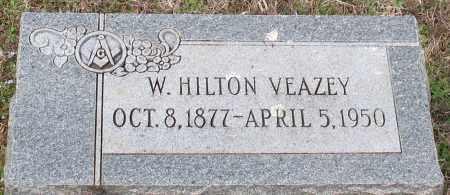 VEAZEY, W HILTON - Grant County, Arkansas | W HILTON VEAZEY - Arkansas Gravestone Photos