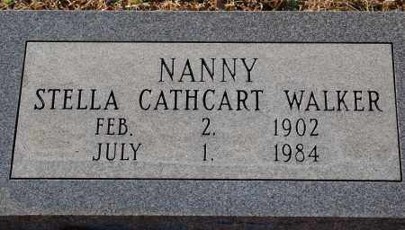 "CATHCART WALKER, STELLA ""NANNY"" - Grant County, Arkansas 