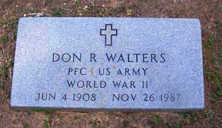 WALTERS (VETERAN WWII), DON R - Grant County, Arkansas | DON R WALTERS (VETERAN WWII) - Arkansas Gravestone Photos