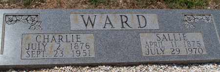 WARD, SALLIE - Grant County, Arkansas | SALLIE WARD - Arkansas Gravestone Photos