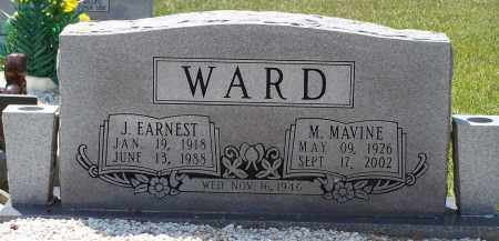 WARD, M. MAVINE - Grant County, Arkansas | M. MAVINE WARD - Arkansas Gravestone Photos