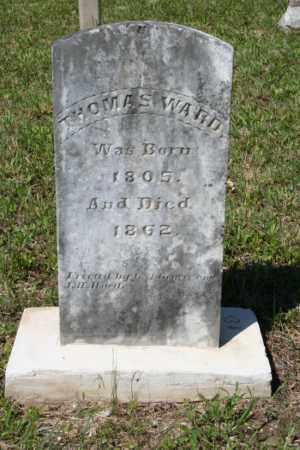 WARD, THOMAS - Grant County, Arkansas | THOMAS WARD - Arkansas Gravestone Photos