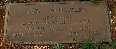 WHEATLEY (VETERAN WWII), LEO - Grant County, Arkansas | LEO WHEATLEY (VETERAN WWII) - Arkansas Gravestone Photos