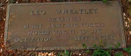 WHEATLEY (VETERAN WWII), LEO - Grant County, Arkansas | LEO WHEATLEY (VETERAN WWII) - Arkansas Gravestone Photos