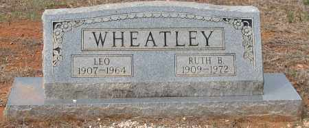 WHEATLEY, LEO - Grant County, Arkansas | LEO WHEATLEY - Arkansas Gravestone Photos