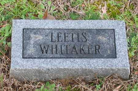 WHITAKER, LEETIS - Grant County, Arkansas | LEETIS WHITAKER - Arkansas Gravestone Photos