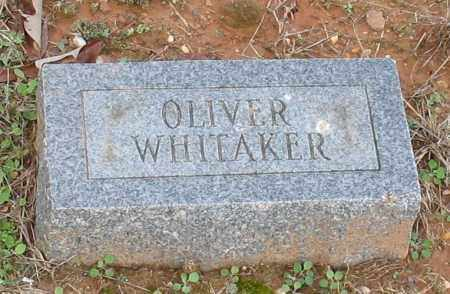 WHITAKER, OLIVER - Grant County, Arkansas | OLIVER WHITAKER - Arkansas Gravestone Photos