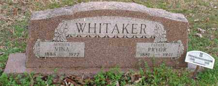 WHITAKER, VINA - Grant County, Arkansas | VINA WHITAKER - Arkansas Gravestone Photos