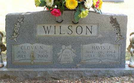 WILSON, CLOVA N. - Grant County, Arkansas | CLOVA N. WILSON - Arkansas Gravestone Photos
