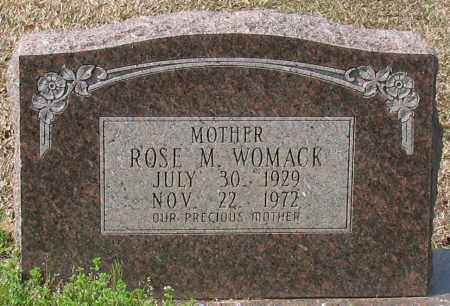 WOMACK, ROSE M - Grant County, Arkansas | ROSE M WOMACK - Arkansas Gravestone Photos