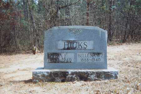 HICKS, BEN - Grant County, Arkansas | BEN HICKS - Arkansas Gravestone Photos