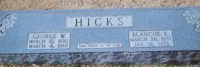 HICKS, BLANCHE E. KENNEDY - Grant County, Arkansas | BLANCHE E. KENNEDY HICKS - Arkansas Gravestone Photos