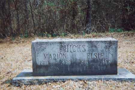 HICKS, ELSIE - Grant County, Arkansas | ELSIE HICKS - Arkansas Gravestone Photos