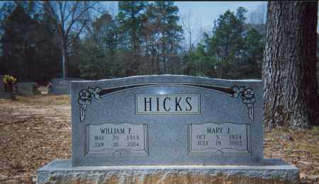 HICKS, WILLIAM - Grant County, Arkansas | WILLIAM HICKS - Arkansas Gravestone Photos