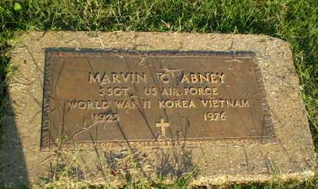 ABNEY (VETERAN 3 WARS), MARVIN C - Greene County, Arkansas | MARVIN C ABNEY (VETERAN 3 WARS) - Arkansas Gravestone Photos