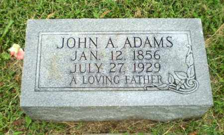 ADAMS, JOHN A - Greene County, Arkansas | JOHN A ADAMS - Arkansas Gravestone Photos