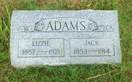 ADAMS, LIZZIE - Greene County, Arkansas | LIZZIE ADAMS - Arkansas Gravestone Photos