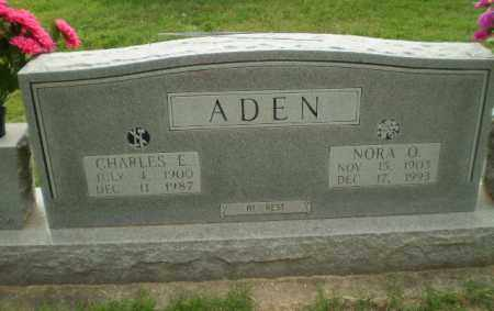 ADEN, NORA O - Greene County, Arkansas | NORA O ADEN - Arkansas Gravestone Photos
