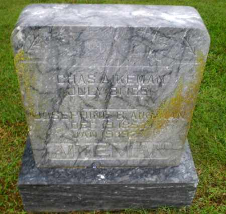 AIKEMAN, JOSEPHINE B - Greene County, Arkansas | JOSEPHINE B AIKEMAN - Arkansas Gravestone Photos