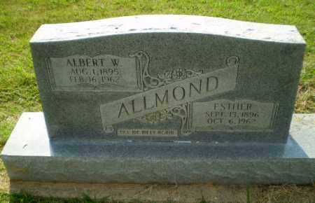ALLMOND, ALBERT W - Greene County, Arkansas | ALBERT W ALLMOND - Arkansas Gravestone Photos