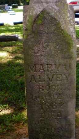 ALVEY, MARY U - Greene County, Arkansas | MARY U ALVEY - Arkansas Gravestone Photos