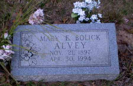 BOLICK ALVEY, MARY E - Greene County, Arkansas | MARY E BOLICK ALVEY - Arkansas Gravestone Photos