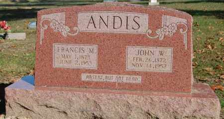 KILLIAN ANDIS, FRANCIS MAY - Greene County, Arkansas | FRANCIS MAY KILLIAN ANDIS - Arkansas Gravestone Photos