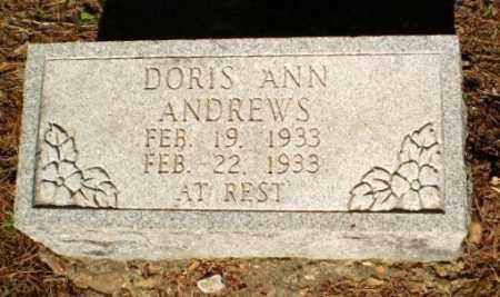 ANDREWS, DORIS ANN - Greene County, Arkansas | DORIS ANN ANDREWS - Arkansas Gravestone Photos