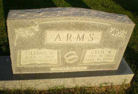 ARMS, CECIL W - Greene County, Arkansas | CECIL W ARMS - Arkansas Gravestone Photos