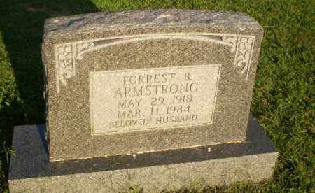 ARMSTRONG, FORREST B - Greene County, Arkansas | FORREST B ARMSTRONG - Arkansas Gravestone Photos