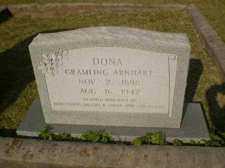 ARNHART, DONA - Greene County, Arkansas | DONA ARNHART - Arkansas Gravestone Photos