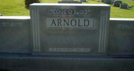 ARNOLD FAMILY STONE,  - Greene County, Arkansas |  ARNOLD FAMILY STONE - Arkansas Gravestone Photos