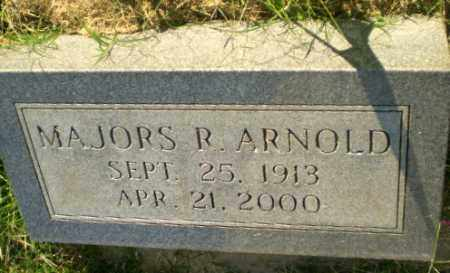 ARNOLD, MAJORS R - Greene County, Arkansas | MAJORS R ARNOLD - Arkansas Gravestone Photos