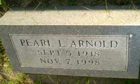 ARNOLD, PEARL L - Greene County, Arkansas | PEARL L ARNOLD - Arkansas Gravestone Photos