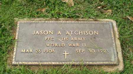 ATCHISON  (VETERAN WWII), JASON A - Greene County, Arkansas | JASON A ATCHISON  (VETERAN WWII) - Arkansas Gravestone Photos