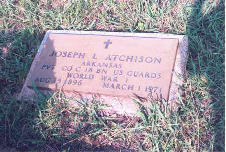 ATCHISON (VETERAN WWI), JOSEPH L. - Greene County, Arkansas | JOSEPH L. ATCHISON (VETERAN WWI) - Arkansas Gravestone Photos