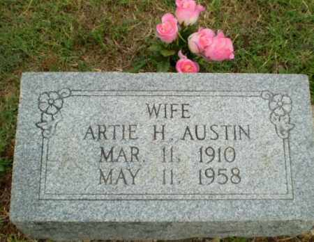 AUSTIN, ARTIE H - Greene County, Arkansas | ARTIE H AUSTIN - Arkansas Gravestone Photos