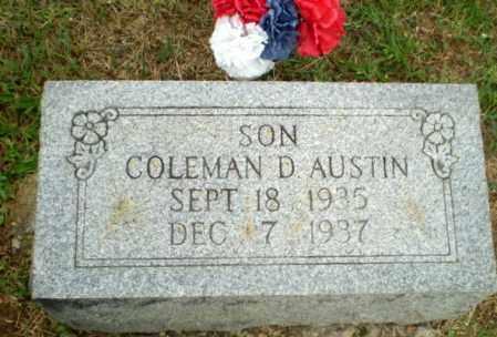AUSTIN, COLEMAN D - Greene County, Arkansas | COLEMAN D AUSTIN - Arkansas Gravestone Photos